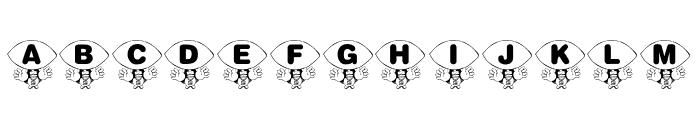 KR Foo'ball Font UPPERCASE