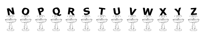 KR Fountain Font LOWERCASE