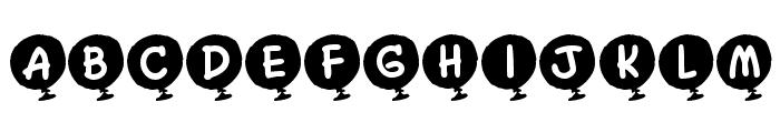 KR Helium Font LOWERCASE