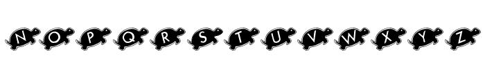 KR Julies Turtle Rescue Font LOWERCASE