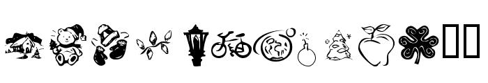 KR Katlings Four Font LOWERCASE