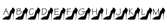 KR Kattitude Font UPPERCASE