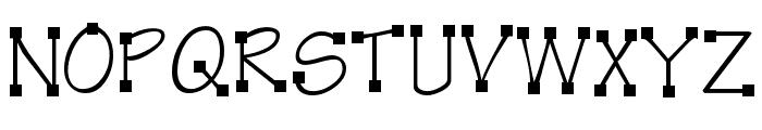 KR Kube Font LOWERCASE