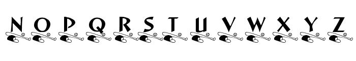KR Little League Font UPPERCASE
