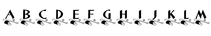 KR Little League Font LOWERCASE