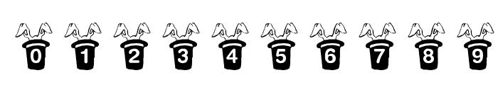 KR Magic Rabbit Font OTHER CHARS