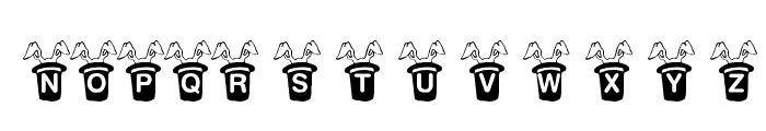 KR Magic Rabbit Font UPPERCASE