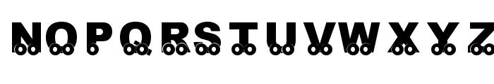 KR On The Go Font UPPERCASE