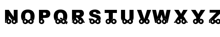 KR On The Go Font LOWERCASE