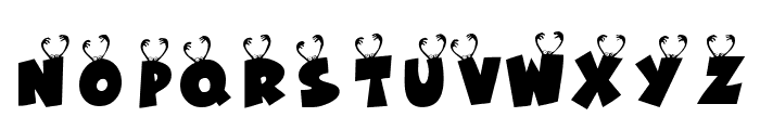 KR Ookie Bookie Font LOWERCASE