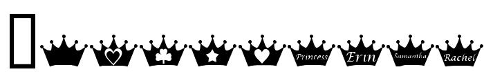 KR PRincEsS Font OTHER CHARS