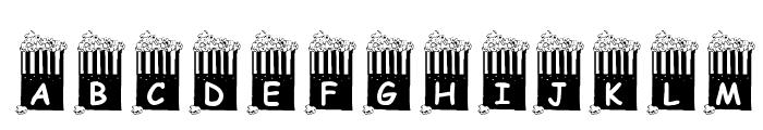 KR Popcorn Time! Font LOWERCASE