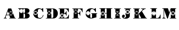 KR Quilt Font LOWERCASE