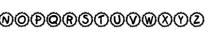 KR Sami's Mark Font UPPERCASE