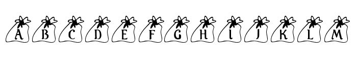 KR Santas Bag Font LOWERCASE