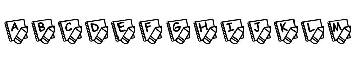 KR School Days Font LOWERCASE