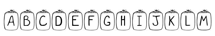 KR Sleep Over Font UPPERCASE