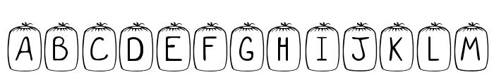 KR Sleep Over Font LOWERCASE