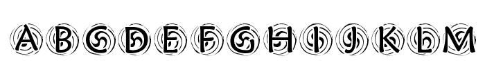 KR Spyro Font UPPERCASE