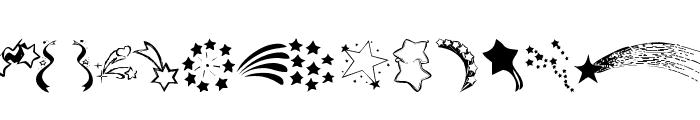 KR Starry Eyed Font UPPERCASE