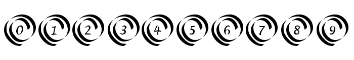 KR Swirl Font OTHER CHARS
