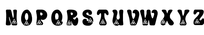 KR Trilobe Font LOWERCASE