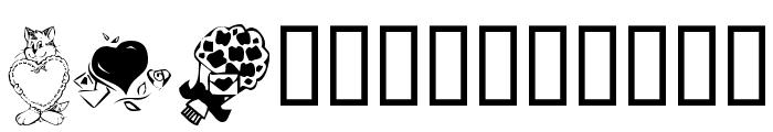 KR Valentine 2003 Font LOWERCASE