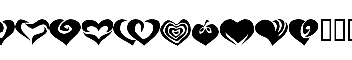 KR Valentines 2006 Two Font UPPERCASE