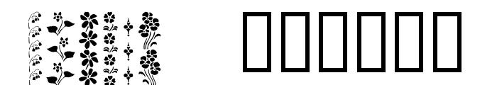 KR Vertical Flair Font UPPERCASE