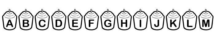 KR Votive Font UPPERCASE