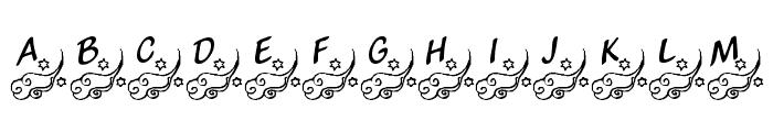 KR Winds Of Change Font UPPERCASE