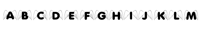 KR Wings On High Font LOWERCASE