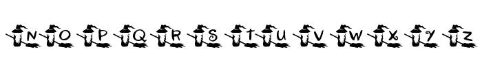 KR Witchyrella Font UPPERCASE