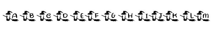 KR Witchyrella Font LOWERCASE