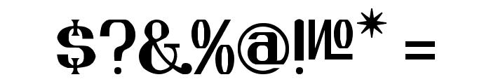 KREMLIN ADVISOR Font OTHER CHARS