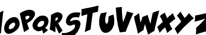 Kraash Black Font UPPERCASE