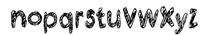 Kraboudja Font LOWERCASE