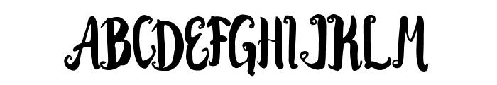 Kracktone Font UPPERCASE
