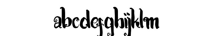 Kracktone Font LOWERCASE
