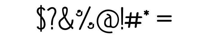 Kraftstoff Font OTHER CHARS