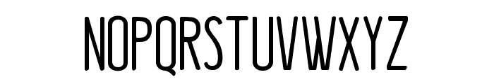 Kraftstoff Font UPPERCASE