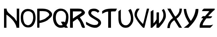 Kramer Regular Font LOWERCASE
