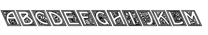 Kramer vs. Leftie Font UPPERCASE