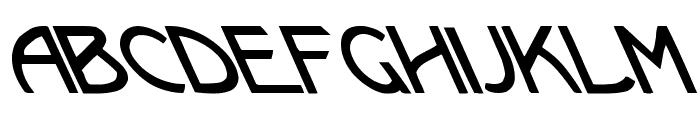 Kramer vs. Leftie Font LOWERCASE