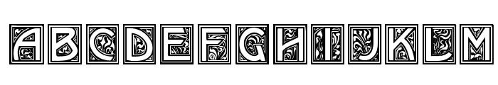 Kramer Font UPPERCASE