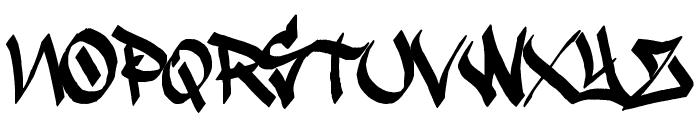 Krash Font UPPERCASE