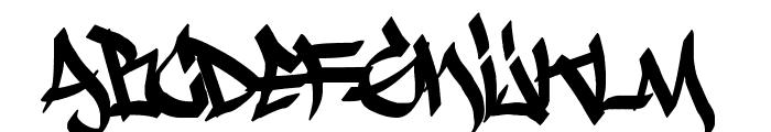 Krash Font LOWERCASE
