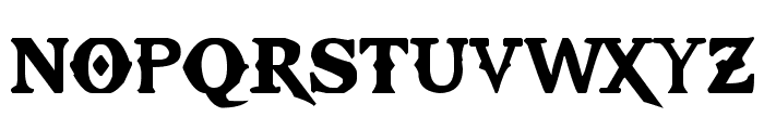 Kratos TrueType - GOD $ WAR Font UPPERCASE