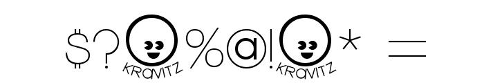 Kravitz Font OTHER CHARS