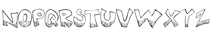 KrazyKool Font UPPERCASE